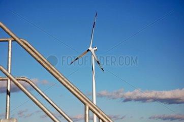 Windenergieanlage bei Ulm