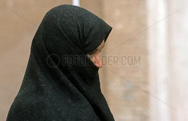 Iranerin mit Tschador