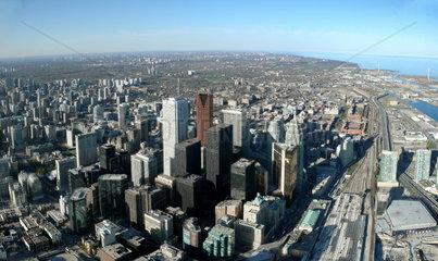 Blick __ber Downtown Toronto