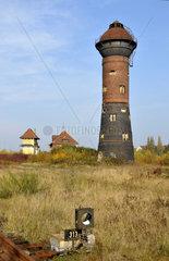 Wasserturm am ehemaligen Rangierbahnhof Duisburg-Wedau