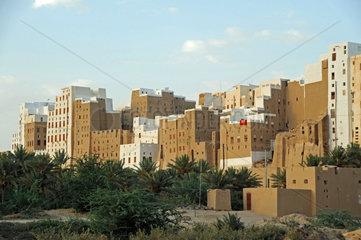Jemen - Sanierung des alten Stadtzentrums von Shibam