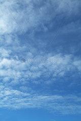Hamburg  Wolkenhimmel