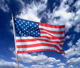 Hamburg  amerikanische Fahne