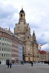 Frauenkirche auf dem Neumarkt  Dresden