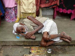 Obdachlosigkeit in Indien