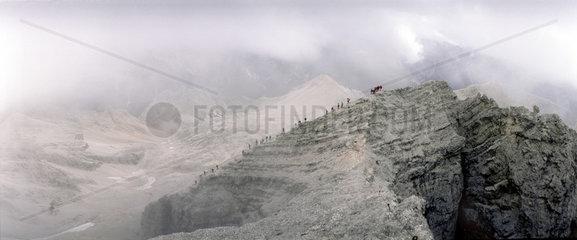 Christallogruppe in den Dolomiten