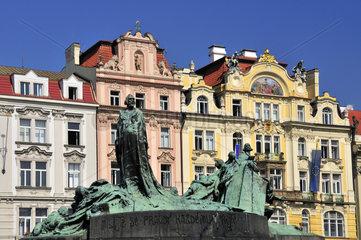Jugendstilfassaden in Prag