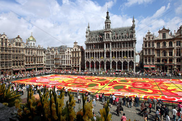 Belgien  Bruessel  Grand Place