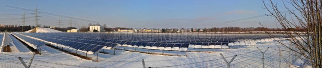 Photovoltaikanlage Troisdorf Oberlar im Winter