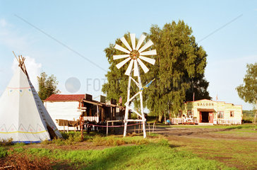 Wild-West-Dorf WESTERN CITY in Leba  Polen
