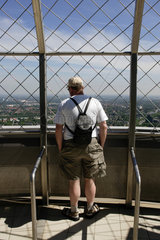 Dortmund  Tourist auf dem Florianturm