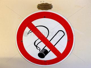 Symbol: Rauchverbot