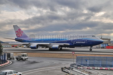 China Airlines Boeing B747-400 in Boeing Farben