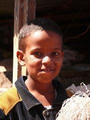 Kleiner Junge in Eritrea