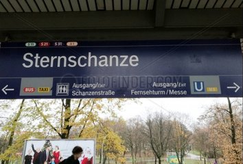 Hamburger U-Bahnhof Sternschanze