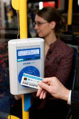 Elektronisches Ticketing auf der Messe Railtec