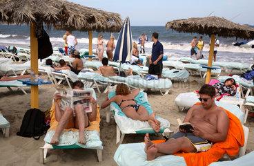 Ibiza  Platja den Bossa  Bora Bora Disco Beach
