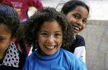 Maedchen in Akko  Israel