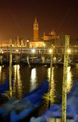Venedig  Gondelstation am Markusplatz