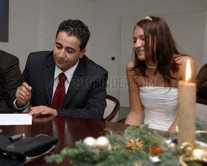 Interkulturelle Heirat