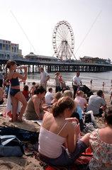 Seebad Blackpool  England