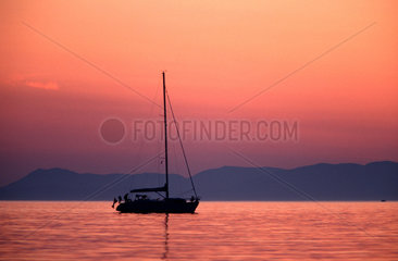 Segeltoern in Griechenland  Insel Korfu