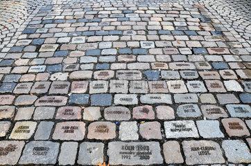 Mahnmal fuer Aids-Tote in Koeln