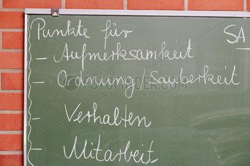Hauptschule / Ganztagsschule Remagen  Schultafel