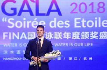 (SP)CHINA-HANGZHOU-SWIMMING-FINA WORLD AQUATICS GALA 2018