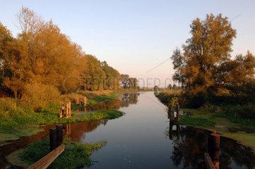 Die Trebel in Mecklenburg-Vorpommern  Tribsees