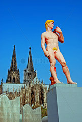 Imitation des David von Michelangelo