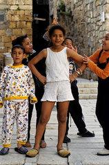 Kinder in Akko  Israel