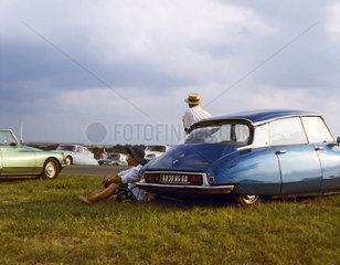 50 Jahre Citroen DS  Die Goettin. DS 19 Baujahr 1958