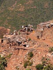 Dorf in den Bergen bei Asmara