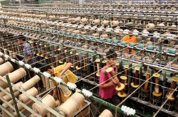 jute spool making