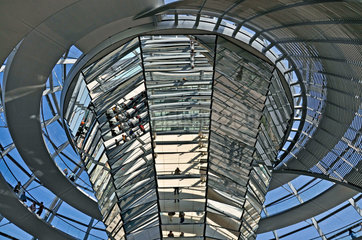 Reichstagskuppel  Berlin