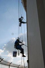 Maler am Bayoke Sky Hotel