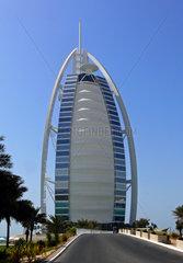 Luxushotel Burj al Arab in Dubai