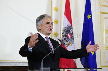 Ministerrat mit Bundeskanzler Werner Faymann