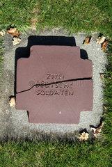 Deutscher Soldatenfriedhof bei La Cambe  Normandie
