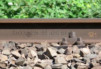 Schienenprofil UIC 60