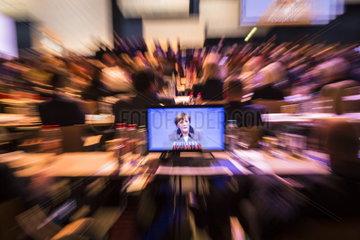 Angela Merkel auf dem CSU Parteitag 2014