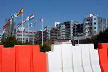 Das Europaeische Parlament in Luxemburg