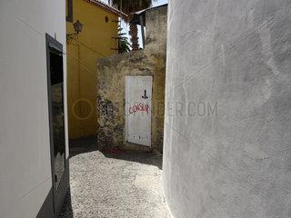 Madeira: Politisches Grafitti gegen Zensur