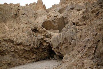 ISRAEL-MOUNT SODOM-WORLD'S DEEPEST SALT CAVE