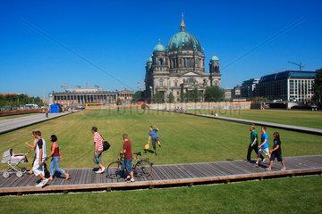 Berliner Schloss Rasenflaeche