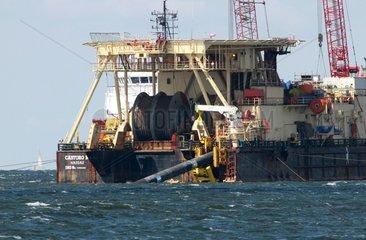 Castoro 10 beim Bau von Nord Stream 2