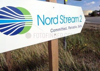 Bau von Nord Stream 2