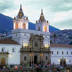 San-Francisco-Kirche in der ecudorianischen Hauptstadt Quito