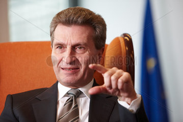 Guenther Oettinger  EU-Kommissar
